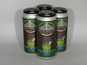 4 Pack O'Beardsley's Stout Cans